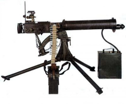 how to draw a browning machine gun